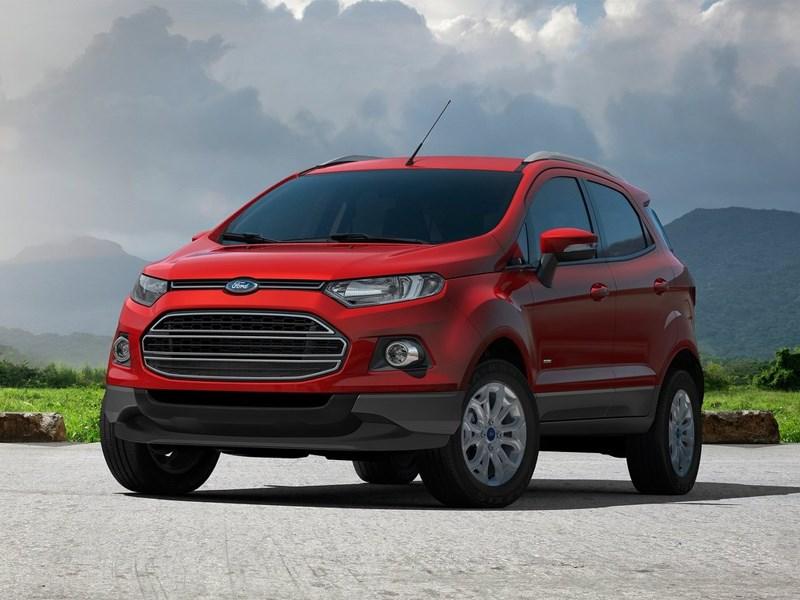 Новый Ford EcoSport - Ford EcoSport 2013 вид спереди