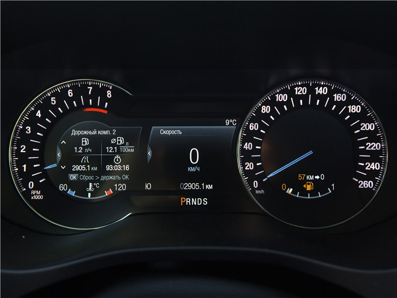 Ford Mondeo 2015 приборная панель