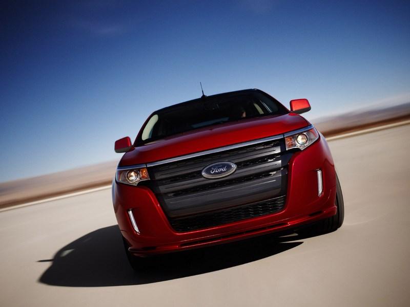 Ford Edge 2014 вид спереди фото 2