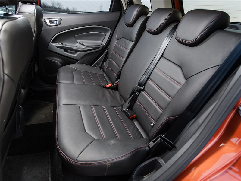 Ford EcoSport 2013 задний диван