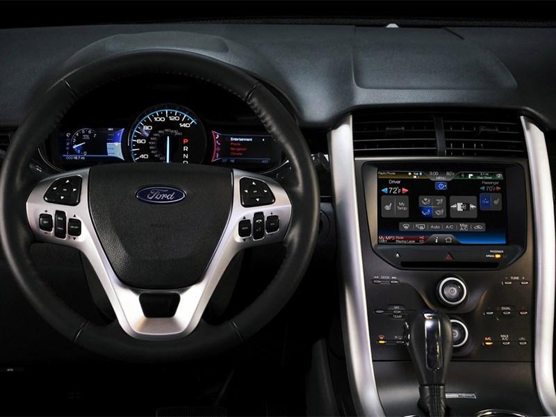 Ford Edge 2014 водительское место