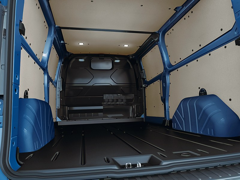 Ford Transit Custom 2012 грузовой отсек