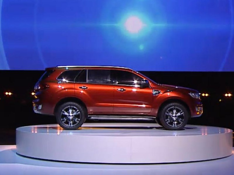 Ford Everest concept 2013 вид сбоку