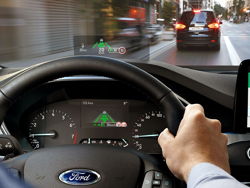 Модели Ford получат проекционный дисплей Фото Авто Коломна