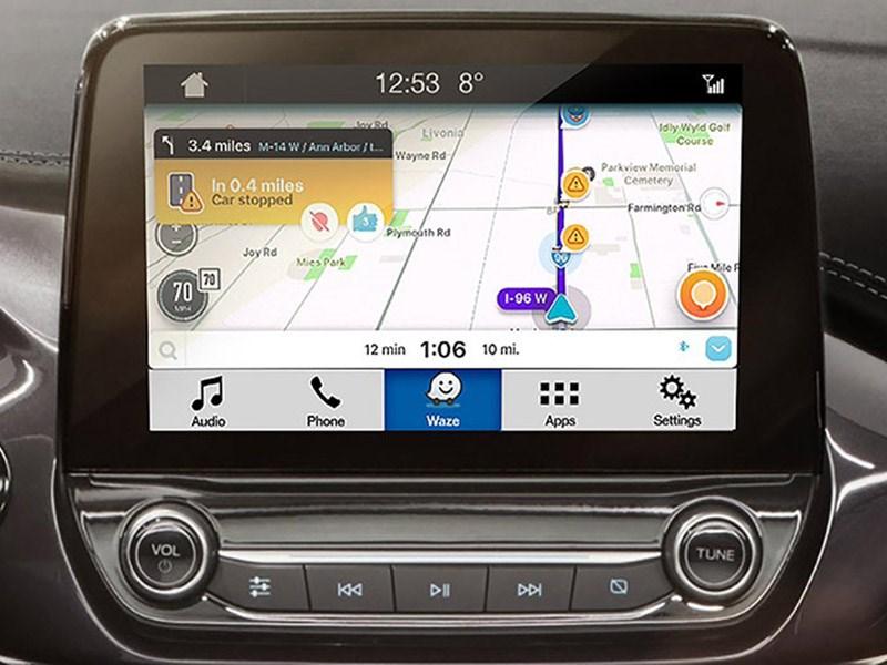 Ford интегрировал Waze в SYNC 3