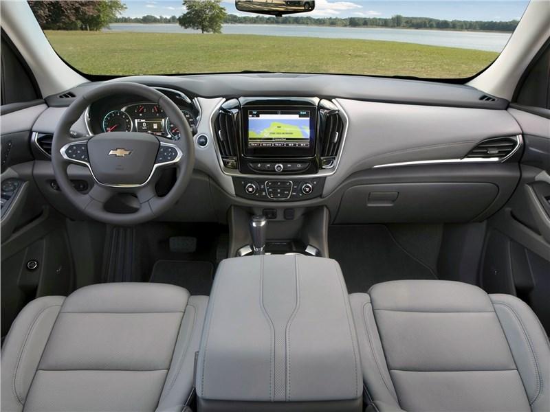 Chevrolet Traverse 2018 салон