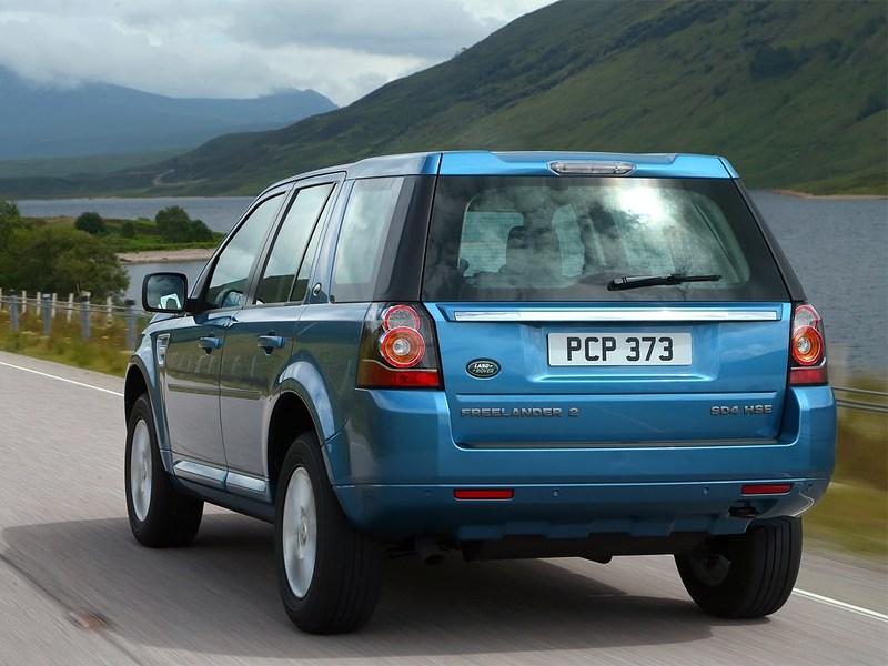 Land Rover Freelander 2 2013 вид сзади