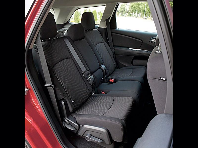 Fiat Freemont 2012 задний диван