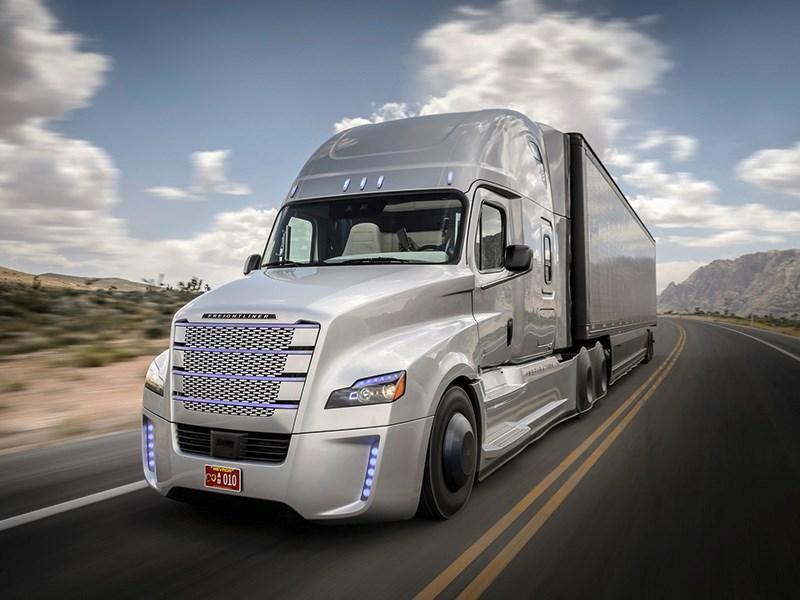 Дочерняя компания Google работает над беспилотным грузовиком