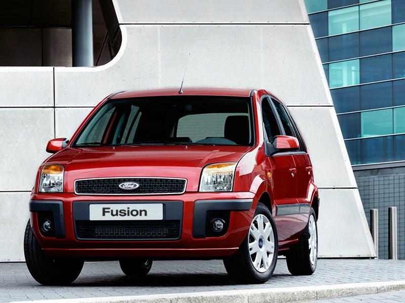 Ford Fusion 2002 статика фото 9