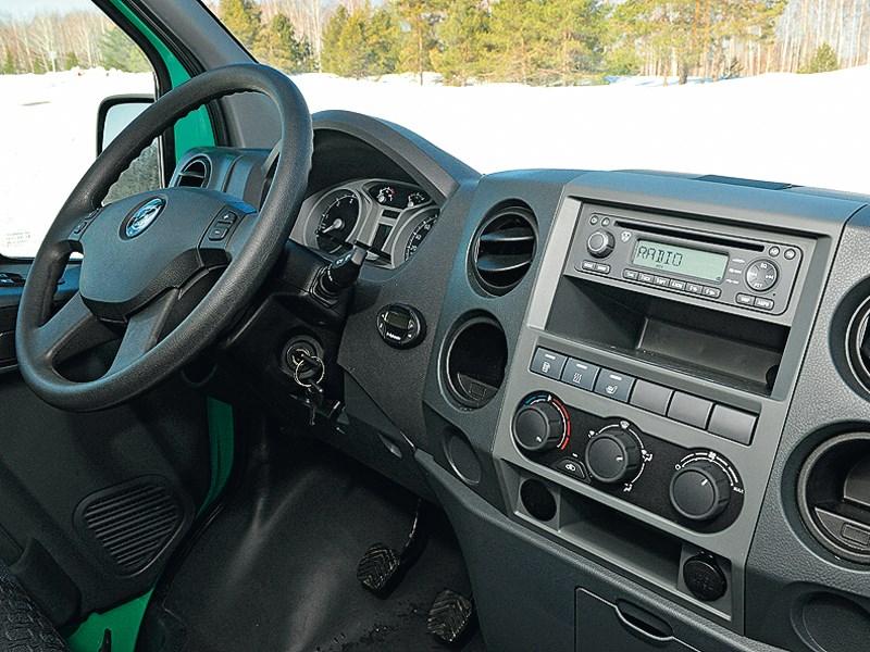 Gazel Next 2013 водительское место