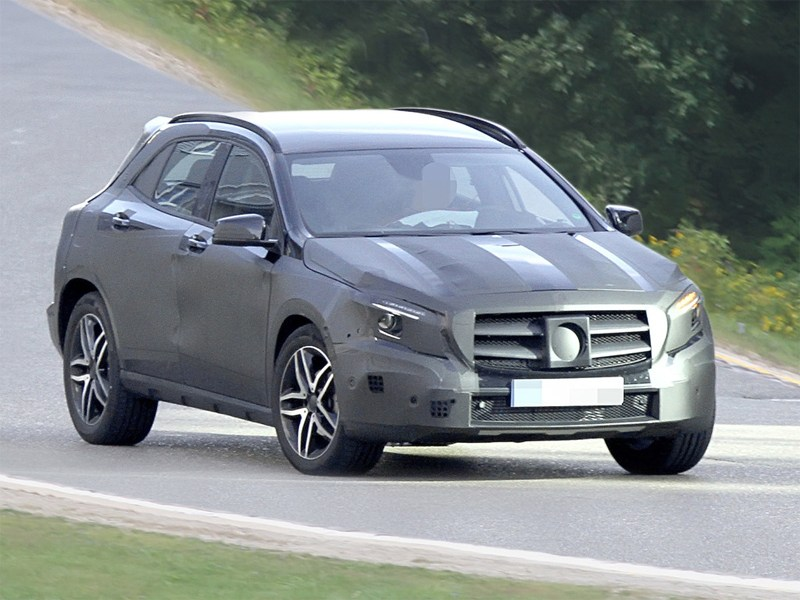Mercedes готовит миниверсию «Гелендвагена»