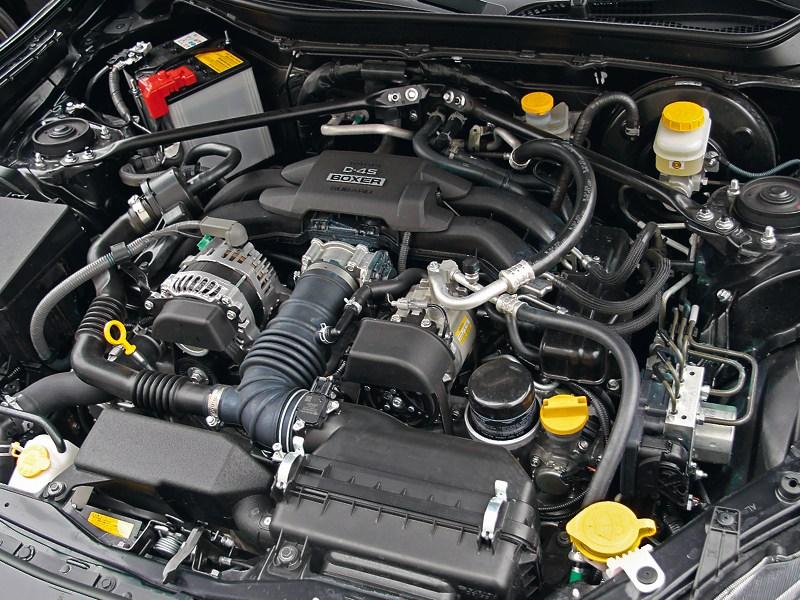 Toyota GT86 2012 двигатель