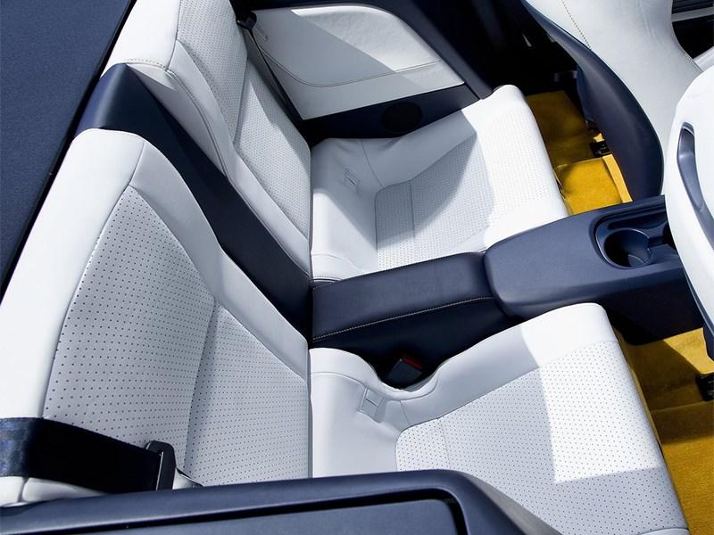 Toyota FT86 Open concept 2013 задние кресла