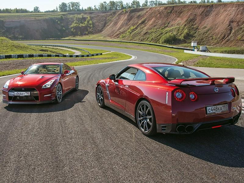 Nissan GTR 2013 на треке