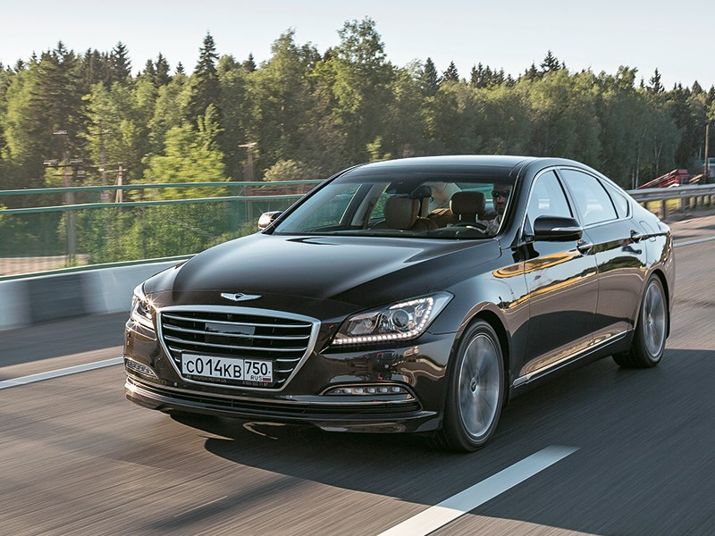 Hyundai Genesis 2014 Против трендов