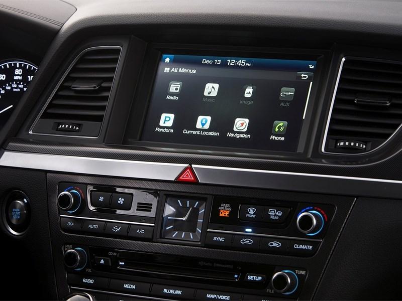 Hyundai Genesis 2014 центральная консоль
