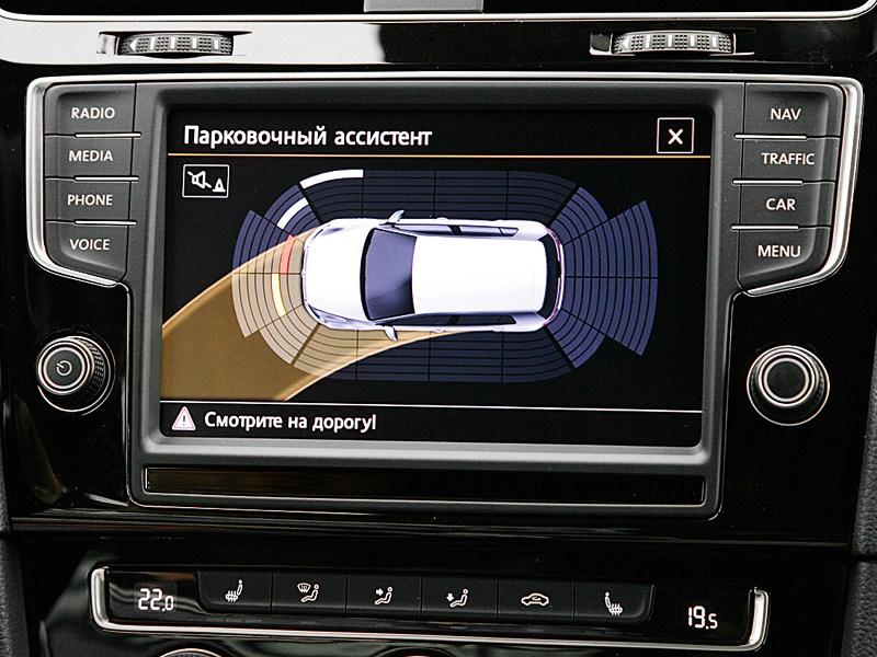 Volkswagen Golf VII 2013 парковочный ассистент