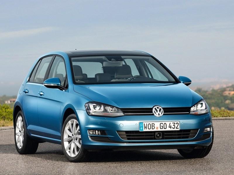 Новый Volkswagen Golf - Volkswagen Golf VII 2013 вид спереди