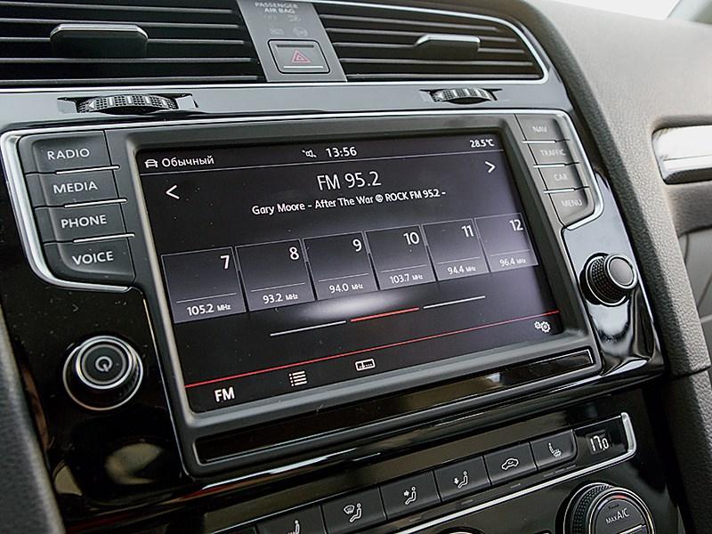 Volkswagen Golf VII 2013 магнитола