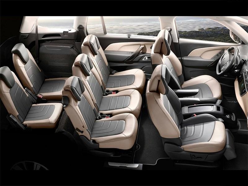 Citroen Grand C4 Picasso 2014 салон