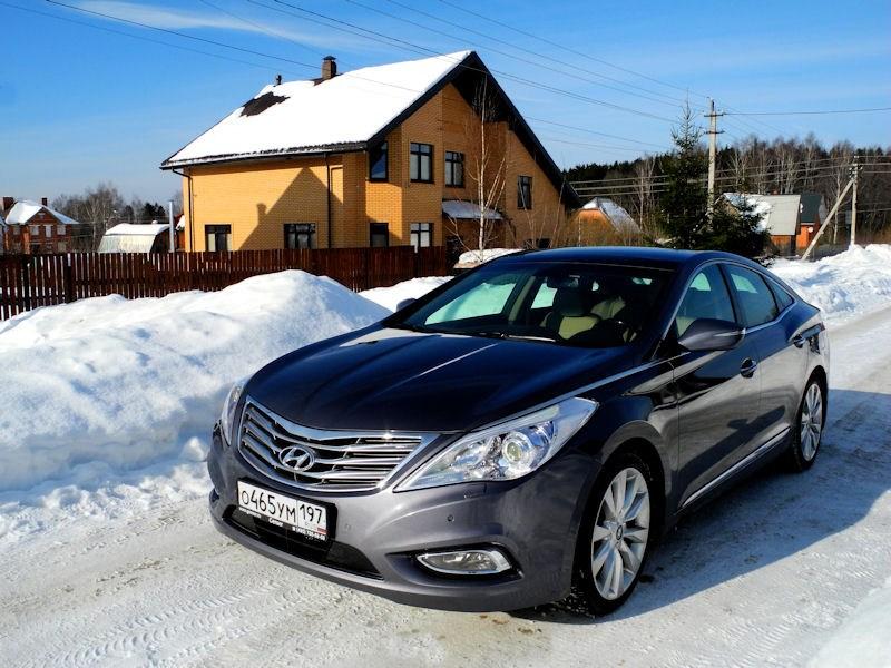 Hyundai Grandeur - hyundai grandeur 2012 вид спереди