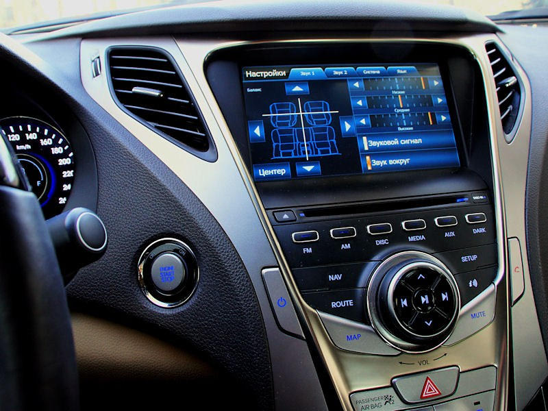 Hyundai Grandeur 2012 бортовой компьютер