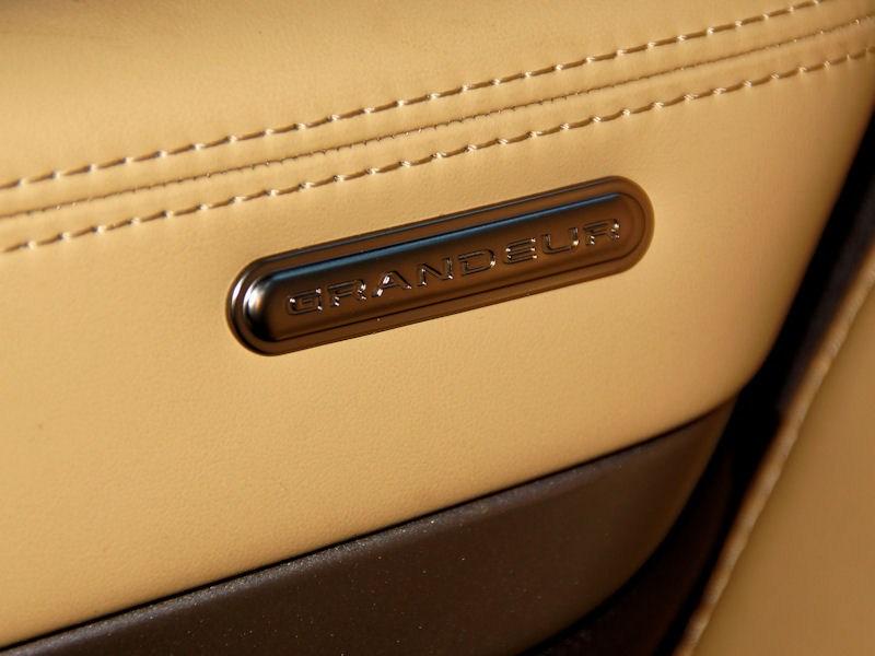 Hyundai Grandeur 2012 шильдик на двери