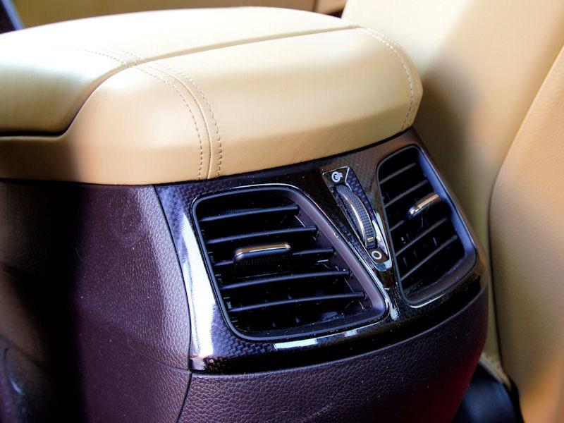 Hyundai Grandeur 2012 дефлекторы воздуховодов