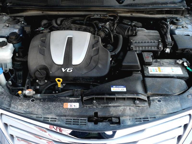 Hyundai Grandeur 2012 двигатель