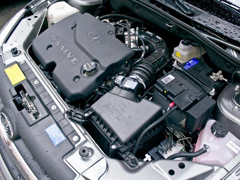 Lada Granta 2011 двигатель