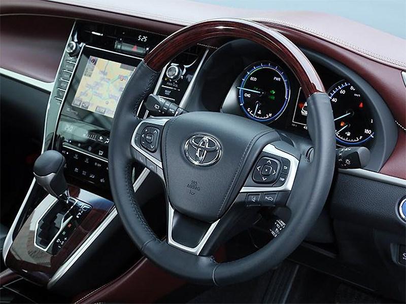 Toyota Harrier 2014 водительское место