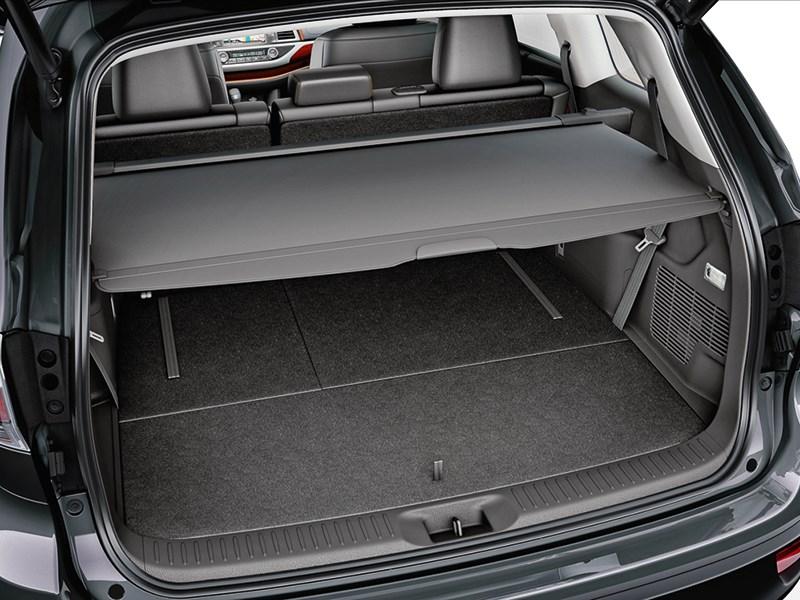 Toyota Highlander 2013 багажное отделение