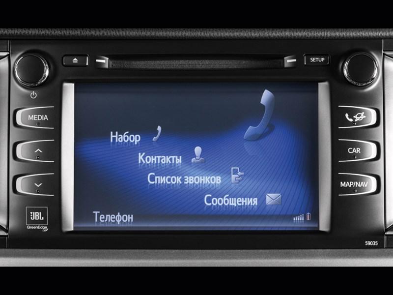Toyota Highlander 2013 монитор