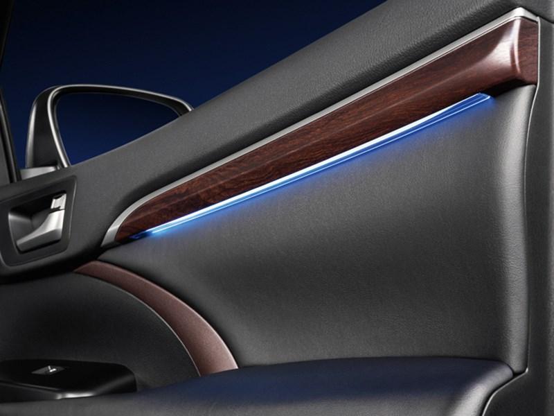 Toyota Highlander 2013 подсветка