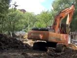 ГК «Автодор» лишилась строительной техники в Химкинском лесу
