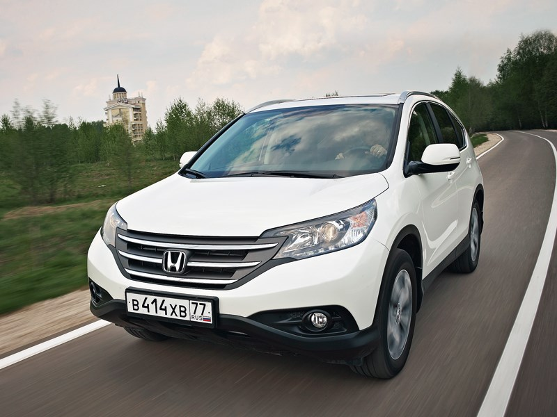 Honda CR-V - honda cr-v 2013 вид спереди