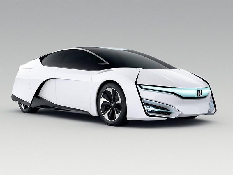 Honda FCEV 2013 вид спереди фото 4