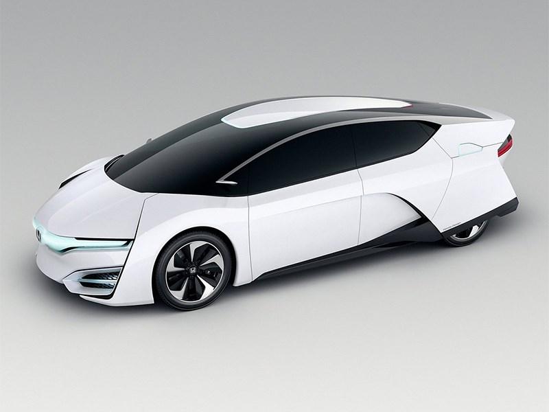 Honda FCEV 2013 вид сбоку фото 3