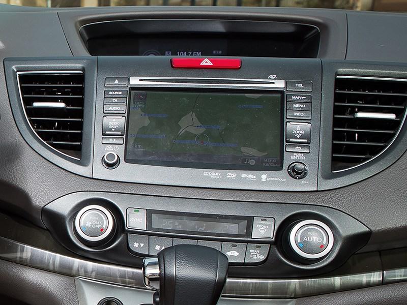 Honda CR-V 2013 центральная консоль