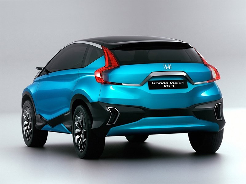 Honda Vision XS-1 2014 вид сзади