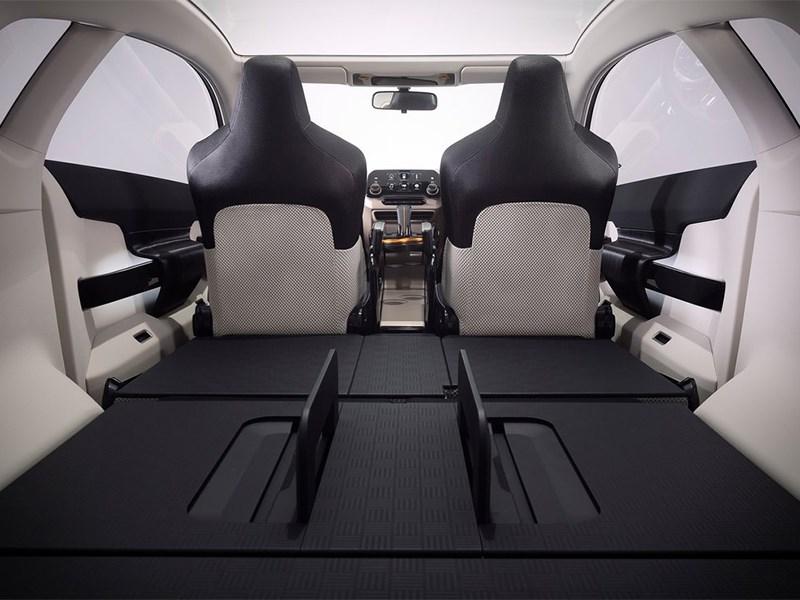 Honda Vision XS-1 2014 багажное отделение