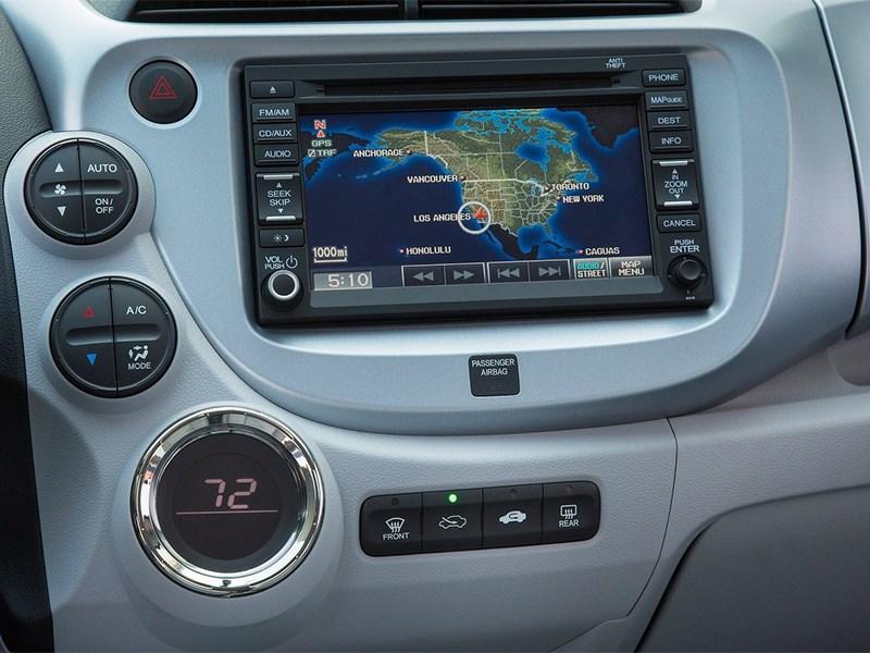 Honda Fit EV 2013 консоль