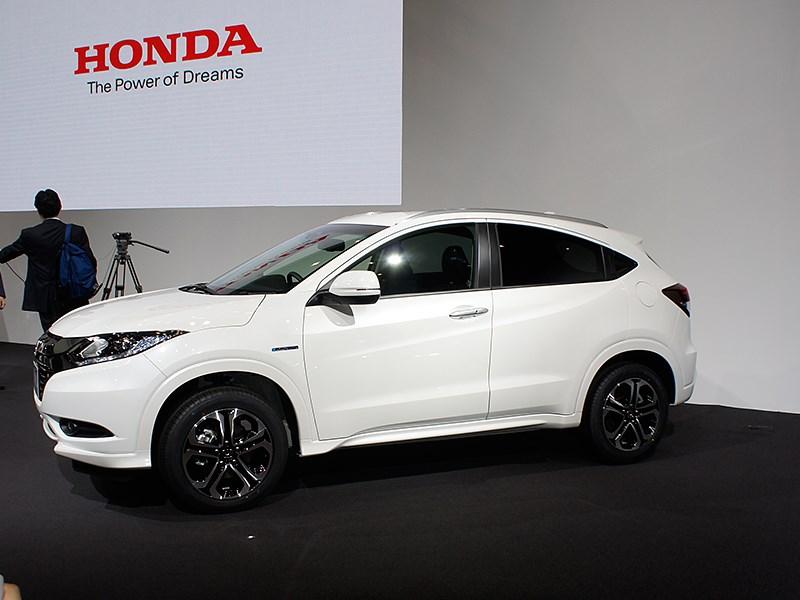 Honda Vezel 2013 вид сбоку