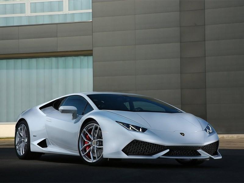 Lamborghini Huracan LP 610-4 2014 вид спереди фото 2