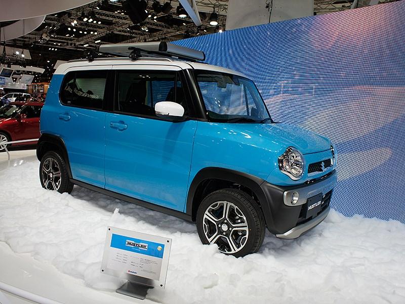 Suzuki Hustler concept 2013 вид сбоку