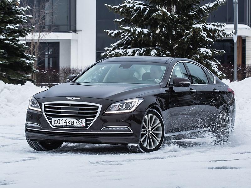 Hyundai Genesis 2014 вид спереди