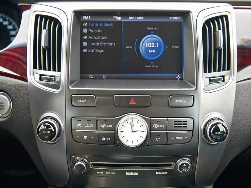 Hyundai Equus 2011 бортовой компьютер