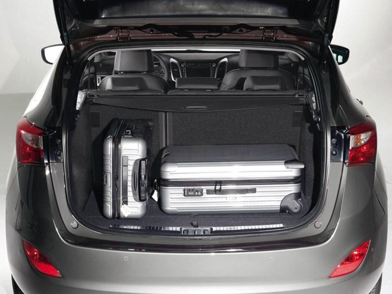 Hyundai i30 2012 багажник