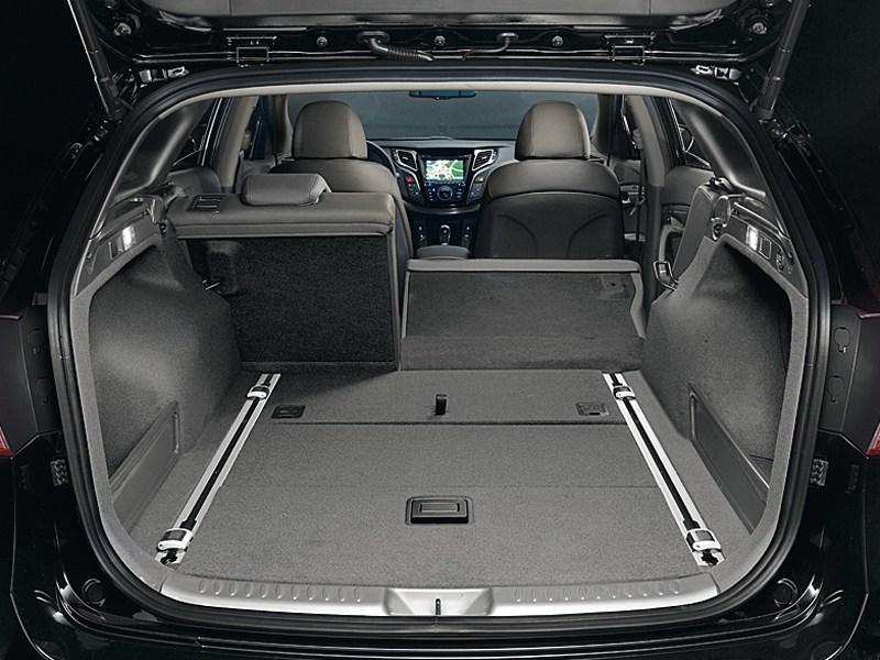 Hyundai i40 2012 багажное отделение